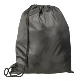 Сумка для обуви ТОП-СПИН для учеников начальной школы, 1 шнур с пластиковым фиксатором, черная, 43х35 см, 226550