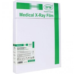 Рентгеновская пленка зеленочувствительная, SFM X-Ray GF, КОМПЛЕКТ 100 л., 24х30 см., 629099