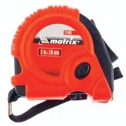 Рулетка измерительная 3,0 м х 16 мм, MATRIX