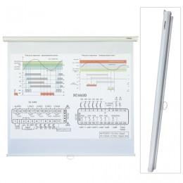 Экран проекционный LUMIEN ECO PICTURE, матовый, настенный, 160х160 см, 1:1, LEP-100105