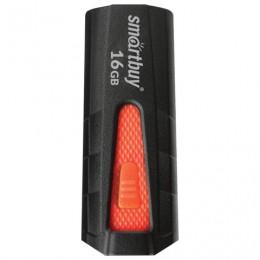 Флэш-диск 16 GB SMARTBUY Iron USB 3.0, черный/красный, SB16GBIR-K3