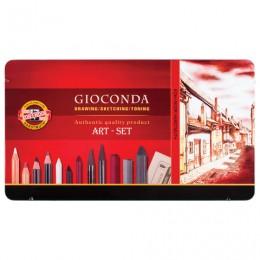Набор художественный KOH-I-NOOR Gioconda, 39 предметов, металлическая коробка, 8891000001PL