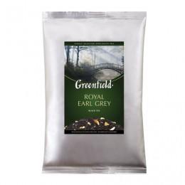 Чай GREENFIELD (Гринфилд) Royal Earl Grey, черный с бергамотом, листовой, 250 г, пакет, 0975-15