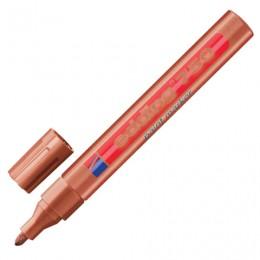 Маркер-краска лаковый (paint marker) EDDING 750, 2-4 мм, круглый наконечник, алюминиевый корпус, медный, E-750/55