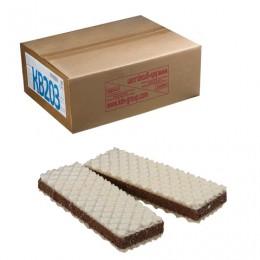 Вафли ЯШКИНО Вафельный сэндвич, с прослойкой из шоколадной глазури, весовые, гофрокороб, 3,78 кг, КВ203