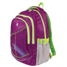 Рюкзак BRAUBERG для старших классов/студентов/молодежи, Крокус, 30 литров, 46х34х18 см, 225521