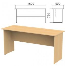 Стол письменный Канц, 1600х600х750 мм, цвет бук невский, СК20.10
