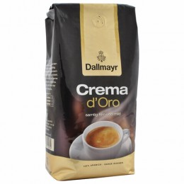Кофе в зернах DALLMAYR (Даллмайер) Crema d`Oro Selektion, арабика 100%, 1000г, вакуумная уп,35503, 355000000