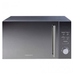 Микроволновая печь HORIZONT 20MW700-1479BKB, объем 20 л, мощность 700 Вт, электронное управление, гриль, черная