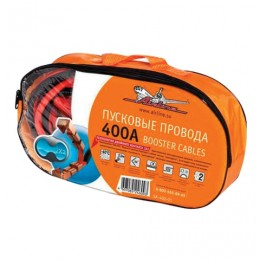 Провода для прикуривания аккумулятора, 400 А, 2,5 м, 12/24 В, сумка, AIRLINE, SA-400-01
