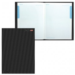Блокнот 7БЦ, А4, 80 л., выборочный лак, 5-цветный блок, HATBER,