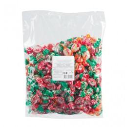 Конфеты карамель ЖИЛИ-БЫЛИ, леденцовая МИНИ, классический микс, 1 кг, пакет, ПР6265