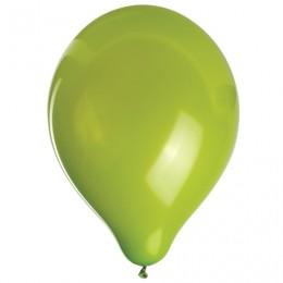 Шары воздушные ZIPPY (ЗИППИ) 10 (25 см), комплект 50 шт., зеленые, в пакете, 104176