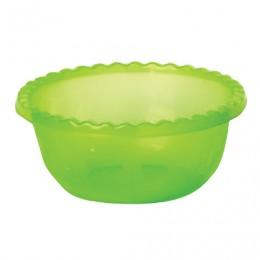 Миска-салатник 8 л, для приготовления и хранения, высота 14 см, диаметр 35 см, круглая, салатовая, IDEA, М 1314