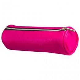 Пенал-косметичка BRAUBERG под фактурную кожу, Экзотика, розовый, 20х6х6 см, 226736