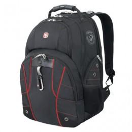 Рюкзак WENGER, универсальный, черный, функция ScanSmart, 29 л, 34х18х47см, 6939201408