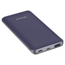 Аккумулятор внешний DEFENDER ExtraLife 8000S, 8000 mAh, 1 USB, литий-ионный, серый, 83667