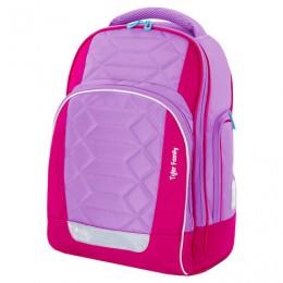 Рюкзак TIGER FAMILY школьный, Rainbow, с ортопедической спинкой, Rainbow Sorbet, 39х31х20 см, 228940, TGRW-011A