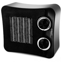 Тепловентилятор SCARLETT SC-FH53K02, 1500 Вт, 3 режим работы, керамический нагревательный элемент, черный
