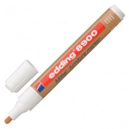 Маркер лаковый для мебели (paint marker) EDDING 8900, ретуширующий, 1,5-2 мм, нитро-основа, ольха, E-8900/621