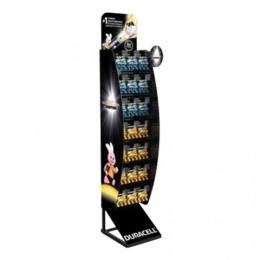 Стойка для размещения товара напольная DURACELL, 3x7 крючков, 70000264