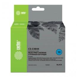 Картридж струйный CACTUS (CS-C4844A) для HP DesignJet 500/800/K850, черный, 72 мл