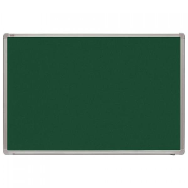 Доска для мела магнитная 60x90 см, зеленая, алюминиевая рамка, 2х3 OFFICE, (Польша), TKA96