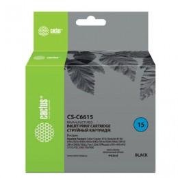Картридж струйный CACTUS (CS-C6615) для HP Deskjet 816C/916C/3810/3820, черный, 44 мл