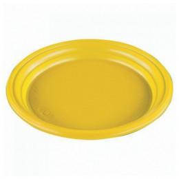 Одноразовые тарелки, комплект 100 шт.,