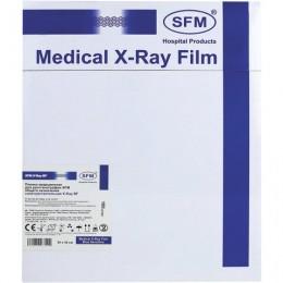 Рентгеновская пленка синечувствительная, SFM X-Ray BF, КОМПЛЕКТ 100 л., 24х30 см., ш/, 629033