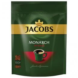 Кофе растворимый JACOBS MONARCH Intense, сублимированный, 150 г, мягкая упаковка, 37804