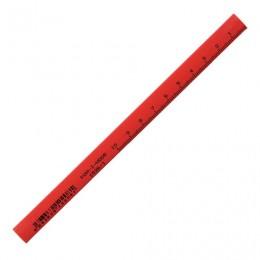 Карандаш столярный KOH-I-NOOR, 1 шт., B, грифель 5х2 мм, корпус красный, 0153600100177
