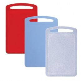 Доска разделочная пластиковая, 0,8х19,5х31,5 см, цвет микс (разноцветный), IDEA, М 1573