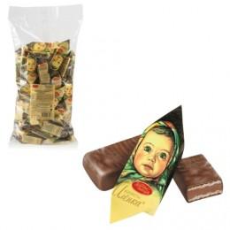 Конфеты шоколадные КРАСНЫЙ ОКТЯБРЬ Аленка, вафельные, молочно-ореховые, 1000 г, пакет, КО11384