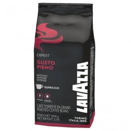 Кофе в зернах LAVAZZA Gusto Pieno Expert, 1000 г, вакуумная упаковка, 4338