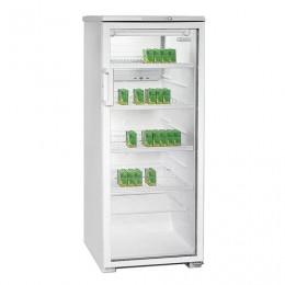 Холодильная витрина БИРЮСА Б-290, общий объем 290 л, 145x58x62 см, белый