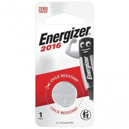 Батарейка ENERGIZER, CR 2016, литиевая, 1 шт, в блистере, (ш/к 83002), E301021801