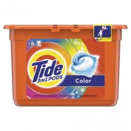 Средство для стирки в капсулах 15 шт. по 24,8 г TIDE (Тайд) Color, 8001090758279