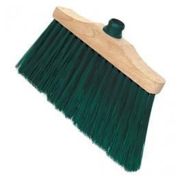 Щетка для уборки, ширина 31 см, щетина 14 см, деревянная, крепление еврорезьба, YORK Laura, 140