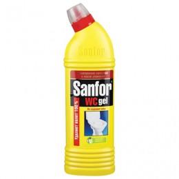 Средство для уборки туалета 1 кг, SANFOR WC gel (Санфор гель)