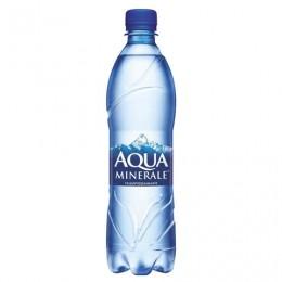 Вода ГАЗИРОВАННАЯ питьевая AQUA MINERALE (Аква Минерале), 0,5 л, пластиковая бутылка, 340038169