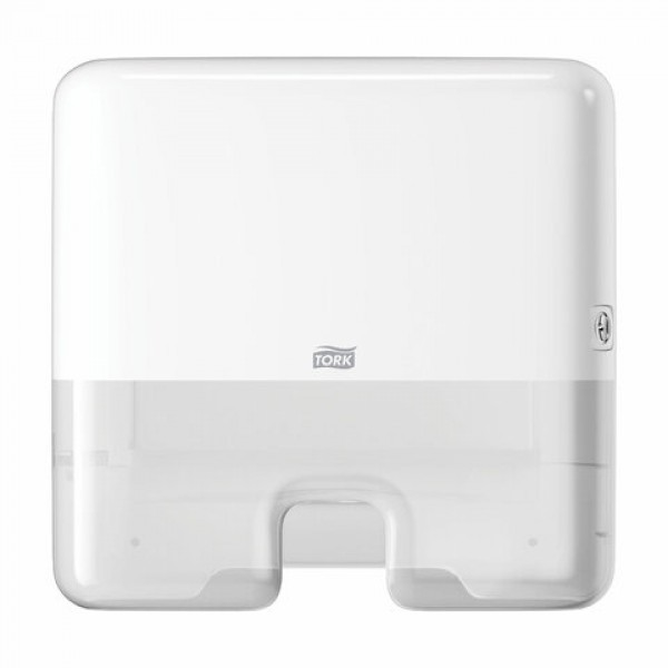 Диспенсер для полотенец TORK (Система H2) Elevation, mini, Multifold, белый, 552100