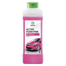Шампунь автомобильный для автоматической и ручной мойки 1л GRASS ACTIVE FOAM PINK