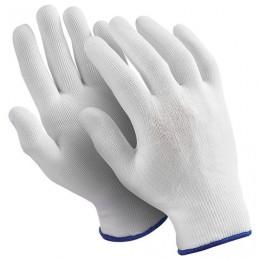 Перчатки нейлоновые MANIPULA Микрон, КОМПЛЕКТ 10 пар, размер 10, XL, белые, TNY-24/MG, TNY-24/MG-101