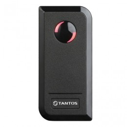 Автономный контроллер доступа TANTOS, встроенный считыватель карт Em-marine, черный, TS-CTR-EM, 00-00096076