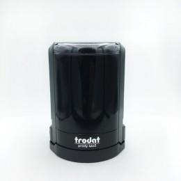 Оснастка для печатей, оттиск D=45 мм, синий, TRODAT 46045, подушка в комплекте