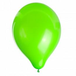 Шары воздушные ZIPPY (ЗИППИ) 10 (25 см), комплект 50 шт., неоновые зеленые, в пакете, 104184