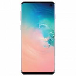 """Смартфон SAMSUNG Galaxy S10, 2 SIM, 6,1"""", 4G (LTE), 16/10 + 8 + 12 + 12 Мп, 128 ГБ, перламутр, металл, SM-G973FZWDSER"""