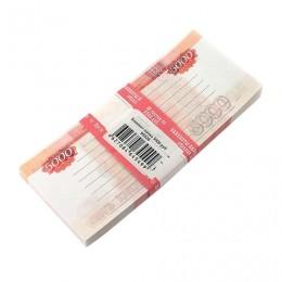 Блок для записей 5000 рублей, проклеенный, 16х7х1 см, NH0000012