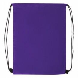 Сумка для обуви BRAUBERG ПРОЧНАЯ, на шнурке, фиолетовая, 42x33 см, 270288